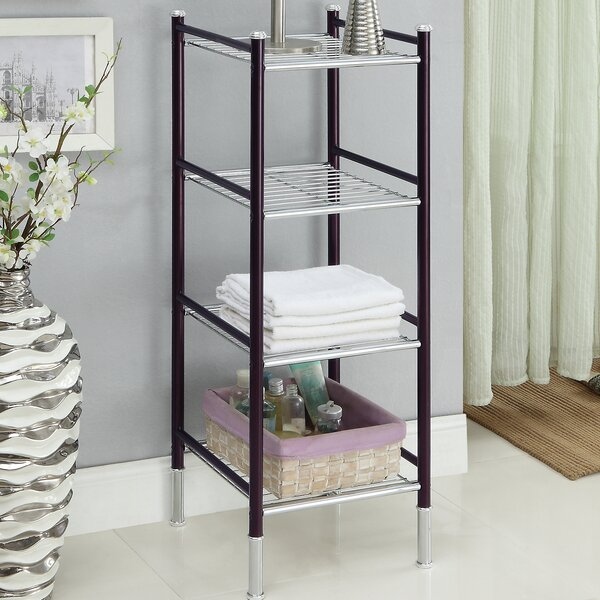 Duplex 14 W x 39.5 H Bathroom Shelf by Organize It