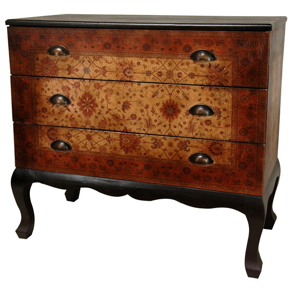 Clair Euro 3 Drawer Bachelors Chest by World Menagerie