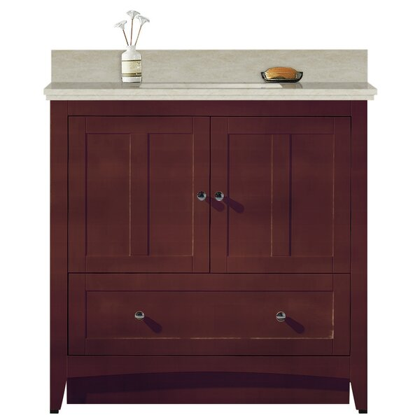 Artic 36 Single Bathroom Vanity Set by Longshore Tides