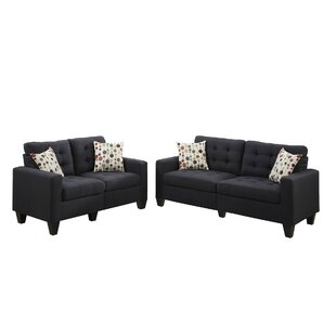 Beau Black Living Room Sets