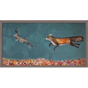 'The Chase' Graphic Art Print by Harriet Bee