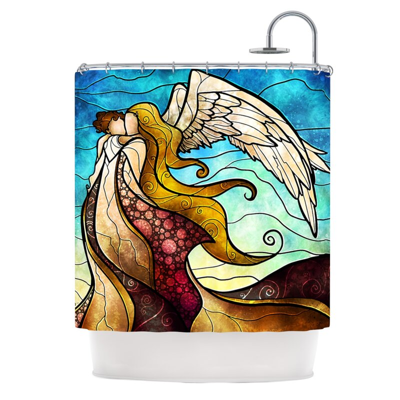 KESS InHouse In The Arms Of The Angel Shower Curtain & Reviews ...