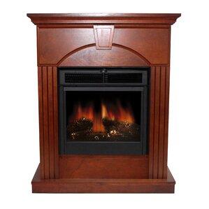 Metal Indoor Electric Fireplace | Wayfair
