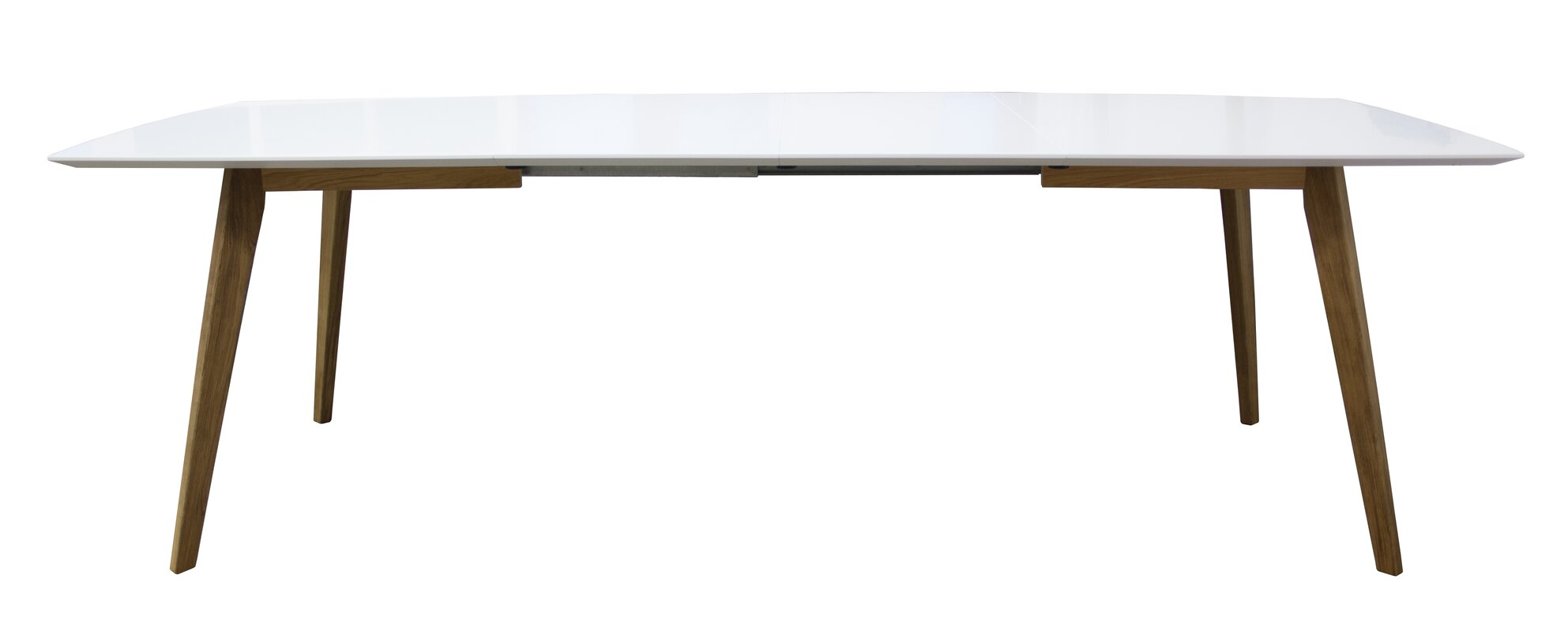 Osaka Wild Oak Dining Table Extension Leaf Dining Table