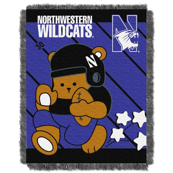 Collegiate Northwestern Baby Throw by Northwest Co.