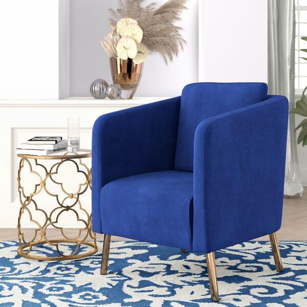 Helsel Slipper Chair by Modern Rustic Interiors