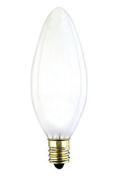 40W E12 Dimmable Incandescent Edison Candle Light Bulb by Westinghouse Lighting