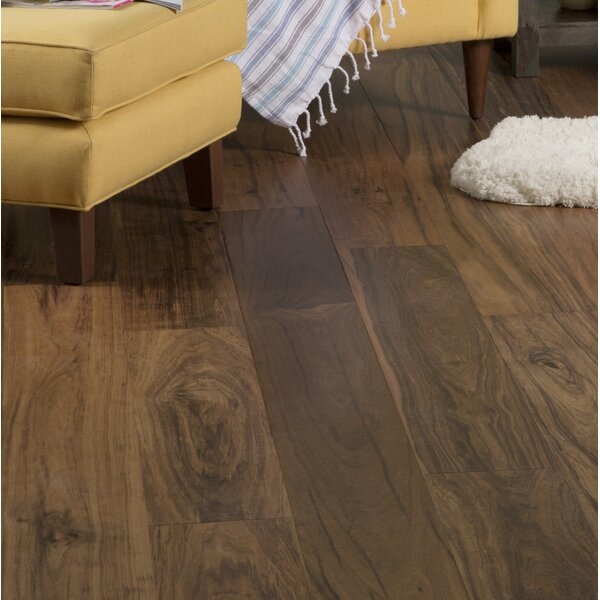 Exotic 7-1/2 Engineered Curupay Hardwood Flooring in Natural by GoHaus