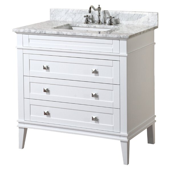Eleanor 36 Single Bathroom Vanity Set by Kitchen Bath Collection