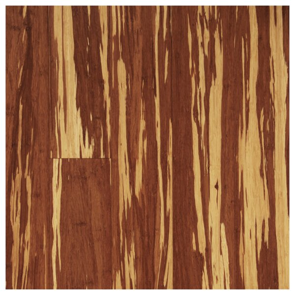 4-3/4 Solid Strand Woven Bamboo  Flooring in Tigerstripe by Easoon USA