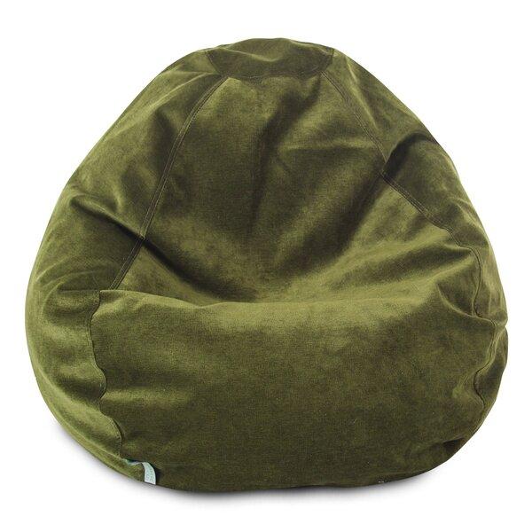 Standard Velvet Bean Bag Chair & Lounger By Mack & Milo