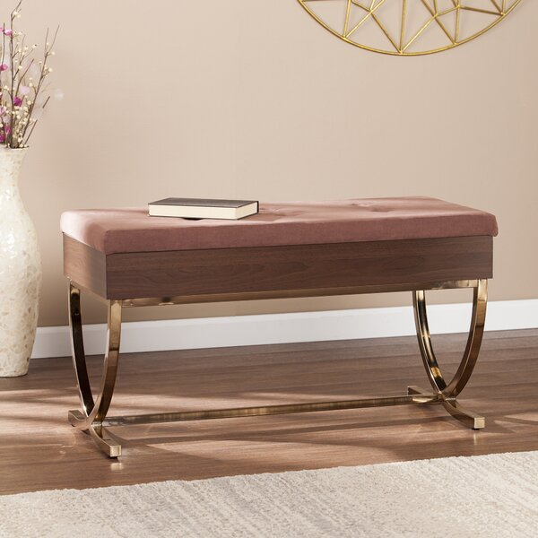 Everdeen Upholstered Storage Bench by House of Hampton