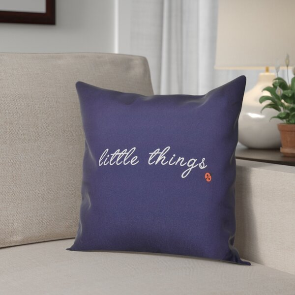 Scotland Little Things Throw Pillow by Red Barrel Studio