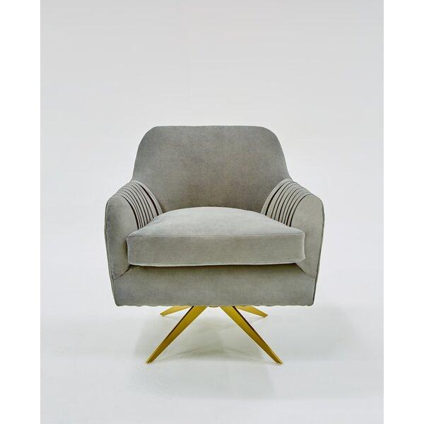 Aurelia Swivel Lounge Chair by Mercer41