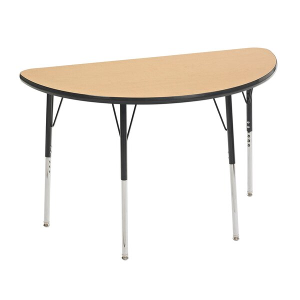 48 x 24 Half Circle Activity Table by ECR4kids