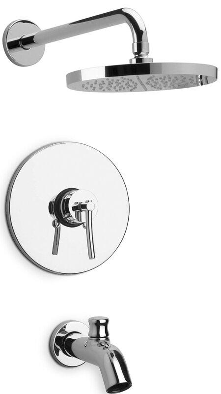 LaToscana Morellino Diverter Pressure Balance Tub and Shower Faucet ...
