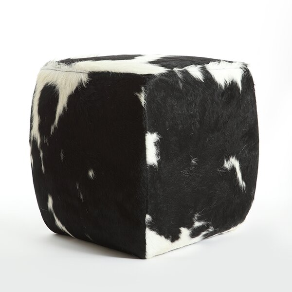 Cobb Leather Pouf