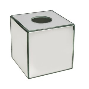 Avenall Crystal Mirror Tissue Box Cover