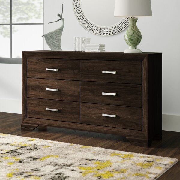 Covington 6 Double Dresser by Wrought Studio