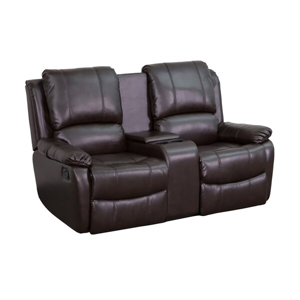 Pillowtop 2-Seat Home Theater Loveseat By Winston Porter