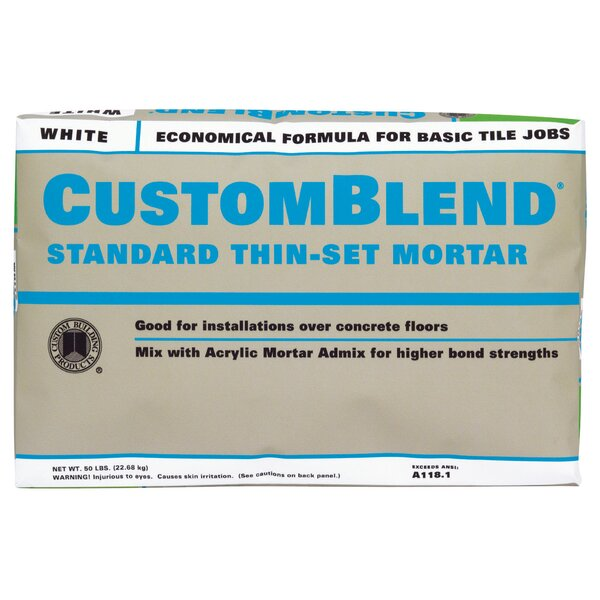 Custom Blend Thin-Set Mortar 50lb by Custom Buildi