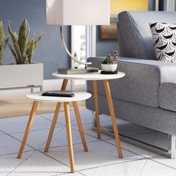 Phoebe 2 Piece Nesting Tables by Langley Street
