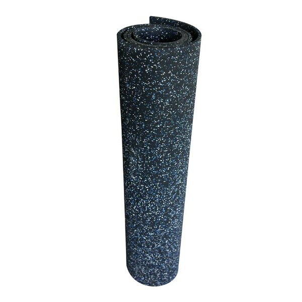 Elephant Bark 96 Recycled Rubber Flooring Roll by Rubber-Cal, Inc.