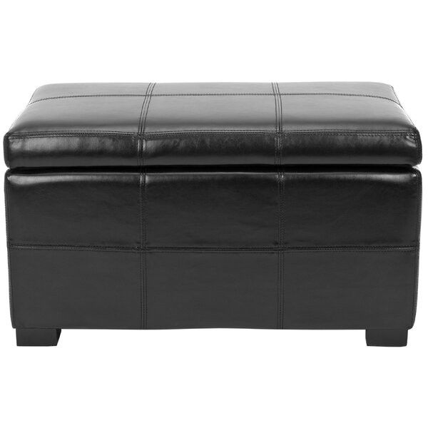 Lucas Leather Storage Bench by Safavieh