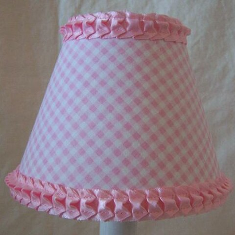 Sugar Kisses 5 Fabric Empire Candelabra Shade by Silly Bear Lighting