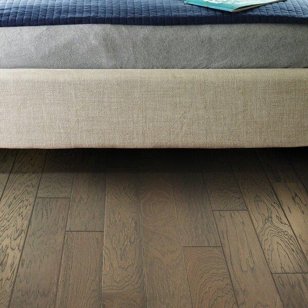 Victorian hickory 4.8 Engineered Hickory Hardwood Flooring in Stonhenge by Shaw Floors
