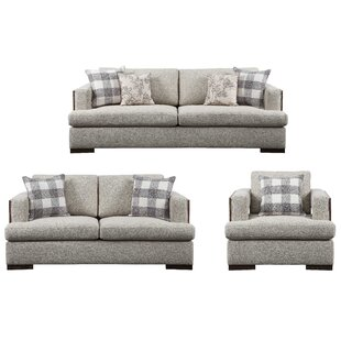 Dalayna 3 Piece Standard Living Room Set by Latitude Run®