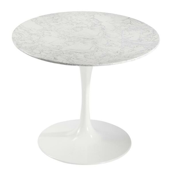 Sariah Artificial Marble Dining Table by Ivy Bronx Ivy Bronx