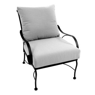 Monticello Deep Seating Chair with Cushion by Meadowcraft