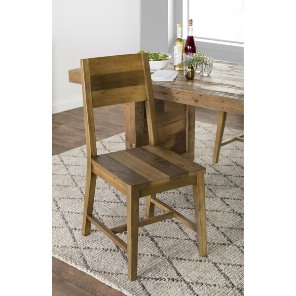 Abbey Solid Wood Dining Chair (Set of 2) by Mistana