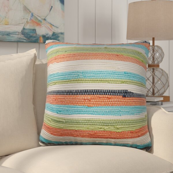 Lauderhill Cotton Throw Pillow by Bay Isle Home