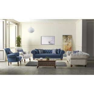 Murchison 4 Piece Living Room Set by Rosdorf Park