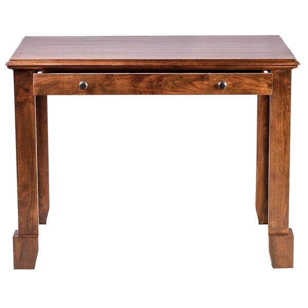 Jeremy 72 W Knob Drawer Writing Desk by Millwood Pines