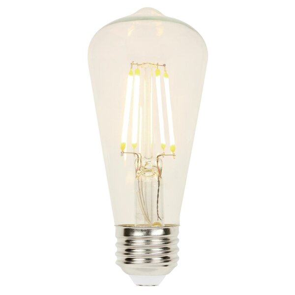 6.5W E26 Dimmable LED Edison Light Bulb by Westinghouse Lighting