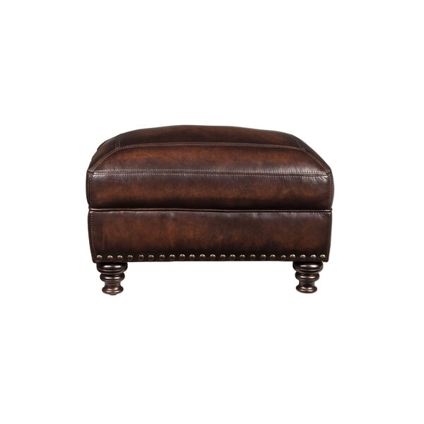 Trecartin Leather Ottoman by Darby Home Co