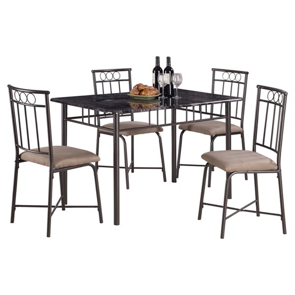 Little Elm 5 Piece Dining Set by Wildon Home®