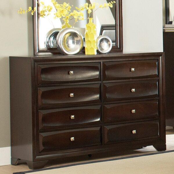 Jaxson 8 Drawer Double Dresser by Wildon Home®