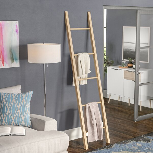 Solid American 6.5 ft Decorative Ladder by Latitude Run