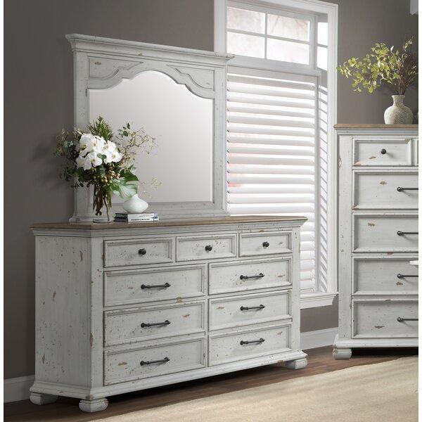Schutz 7 Drawer Dresser with Mirror by Gracie Oaks
