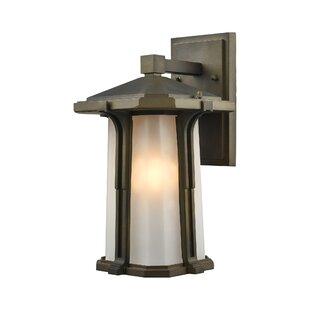 Best Dima 1-Light Outdoor Wall lantern By Brayden Studio