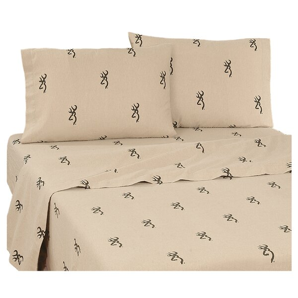Country 180 Thread Count Percale Sheet Set by Browning