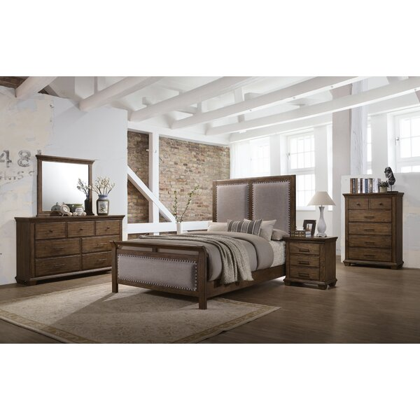 Dorey Upholstered Standard Configurable Bedroom Set by Gracie Oaks
