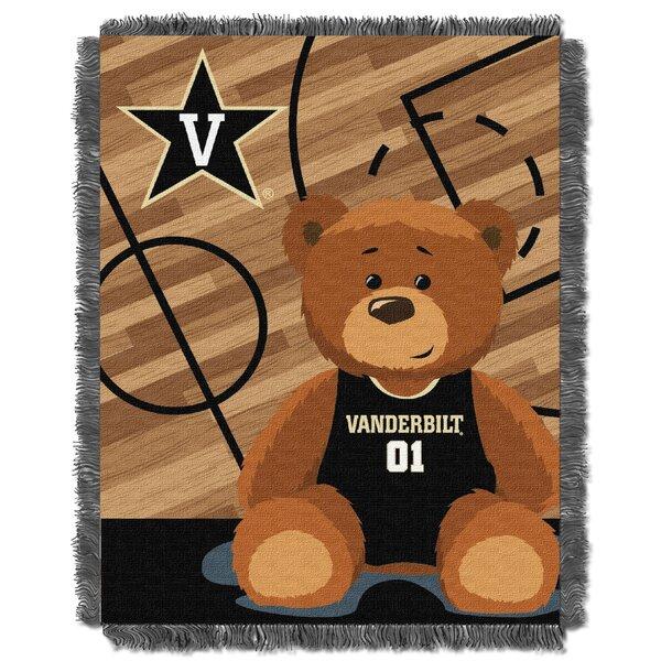 Collegiate Vanderbilt Baby Blanket by Northwest Co.