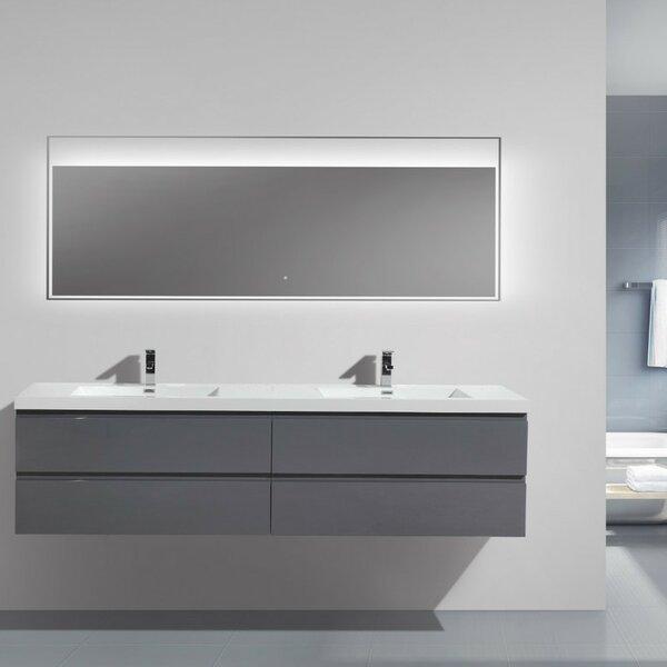 Lina 84 Double Bathroom Vanity Set