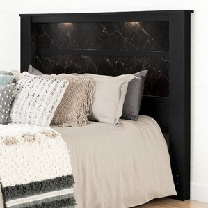 Gloria King Panel Headboard with Lights by South Shore