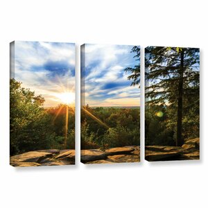 Virginia Kendall 2 by Cody York 3 Piece Photographic Print on Wrapped Canvas Set by ArtWall